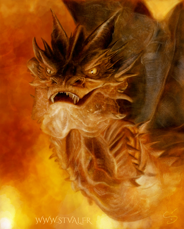 Dragon Smaug (the Hobbit)